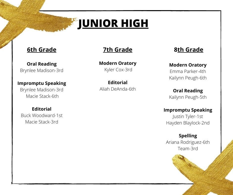 Junior High Uil